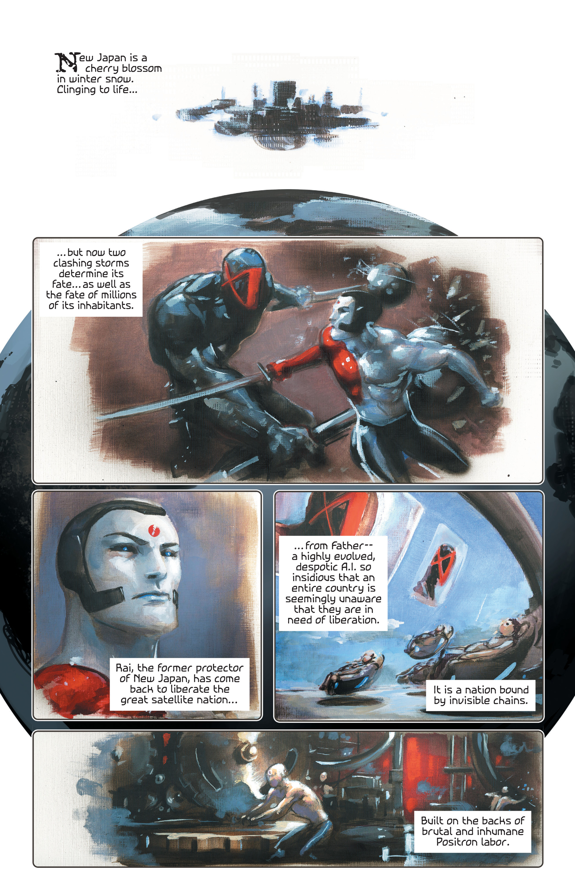 Read online 4001 A.D. comic -  Issue #4 - 3