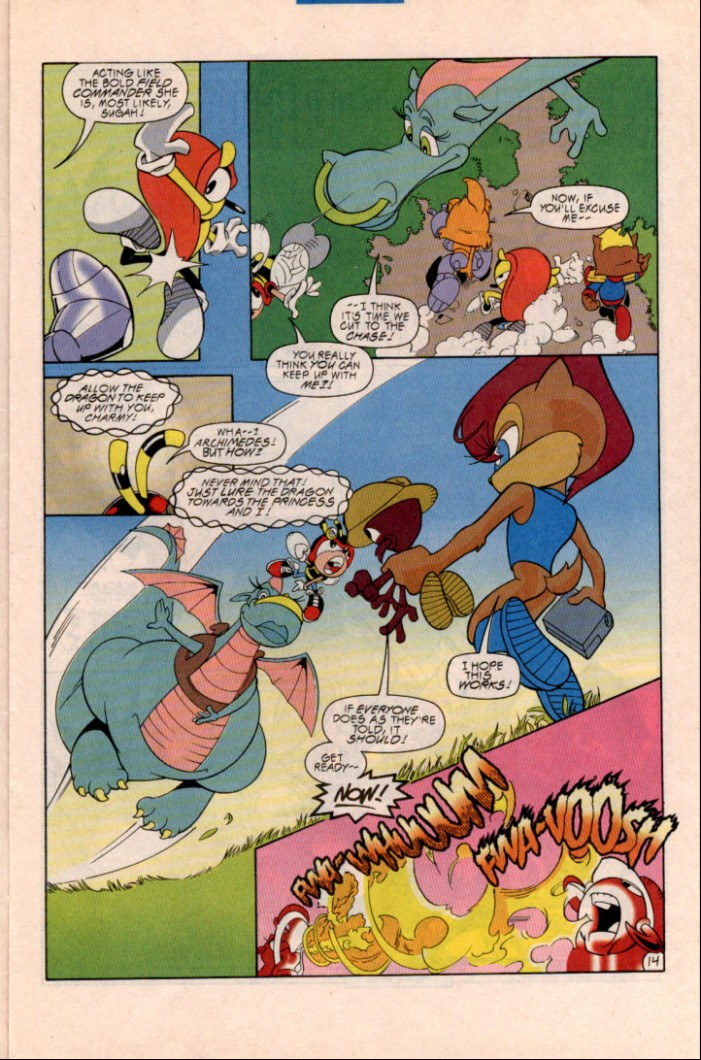 Read online Sonic Super Special comic -  Issue #1 - Sonic Vs. Knuckles Battle Royal - 16