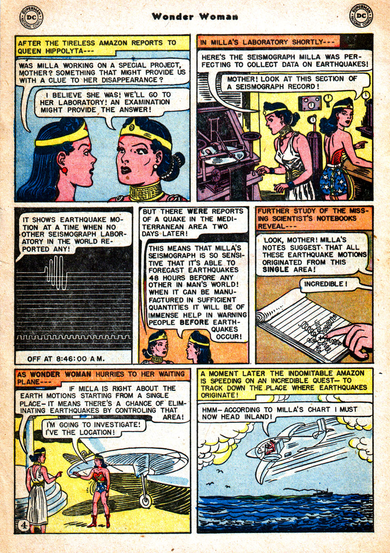Read online Wonder Woman (1942) comic -  Issue #57 - 5