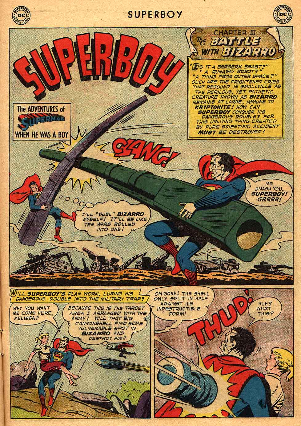 Superboy (1949) issue 68 - Page 22