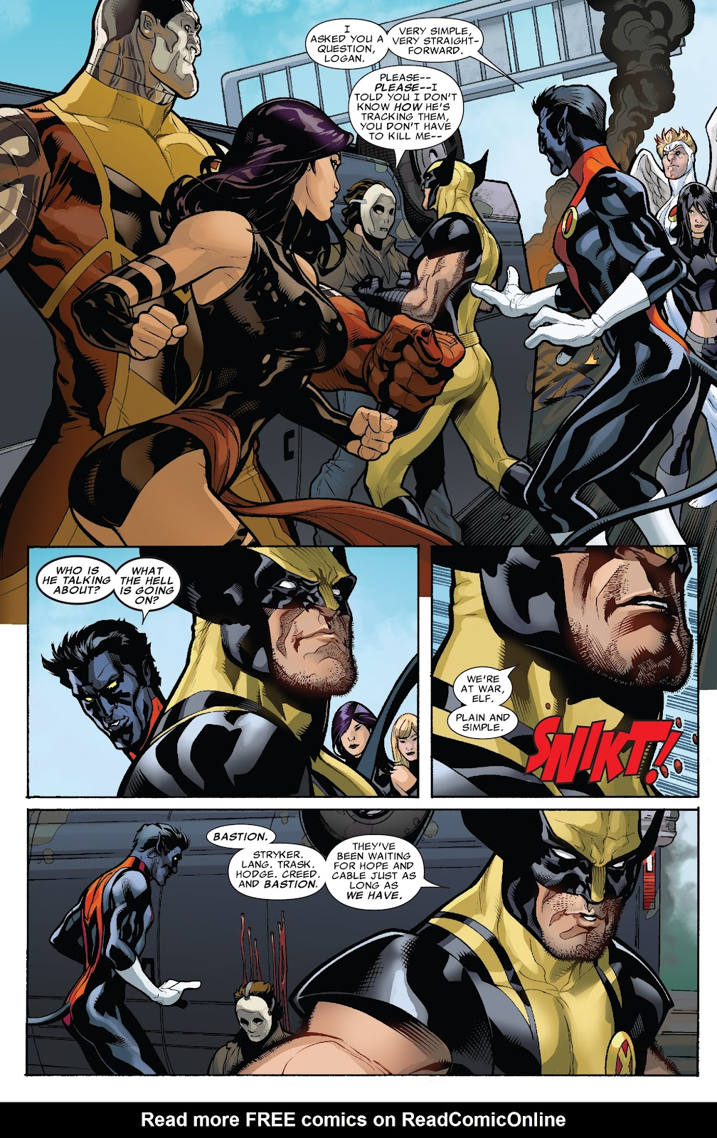Read online X-Men: Second Coming comic -  Issue # _TPB (Part 1) - 47