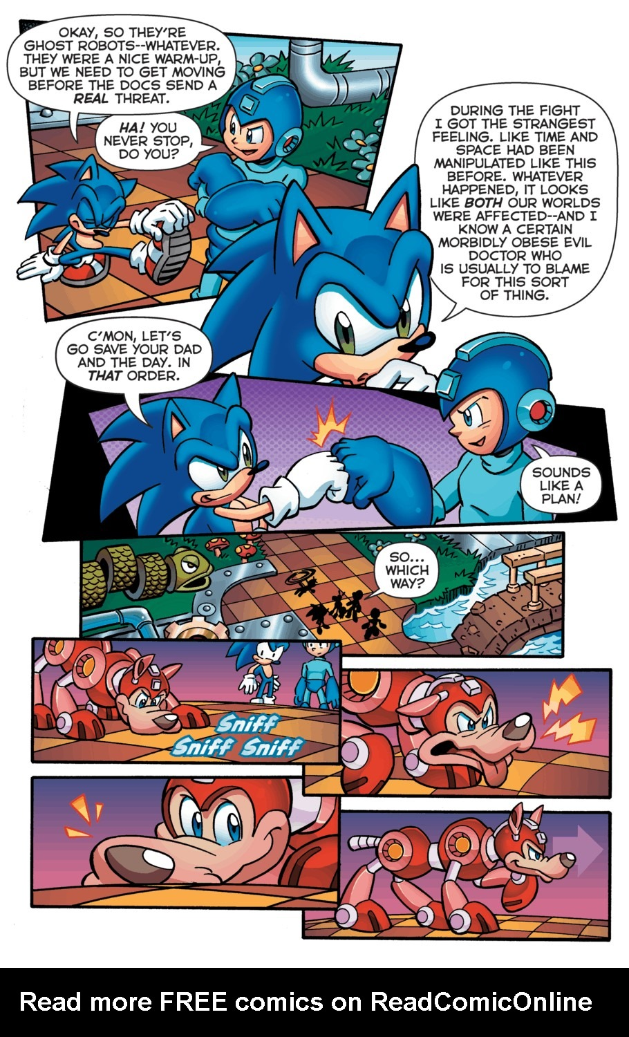 Read online Sonic Universe comic -  Issue #52 - 19
