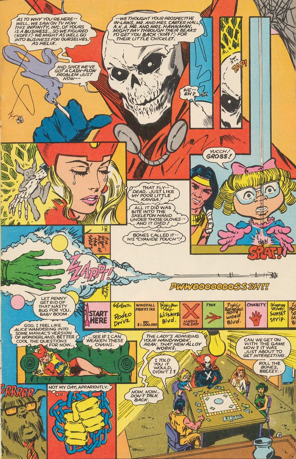 Infinity Inc. (1984) issue 17 - Page 10