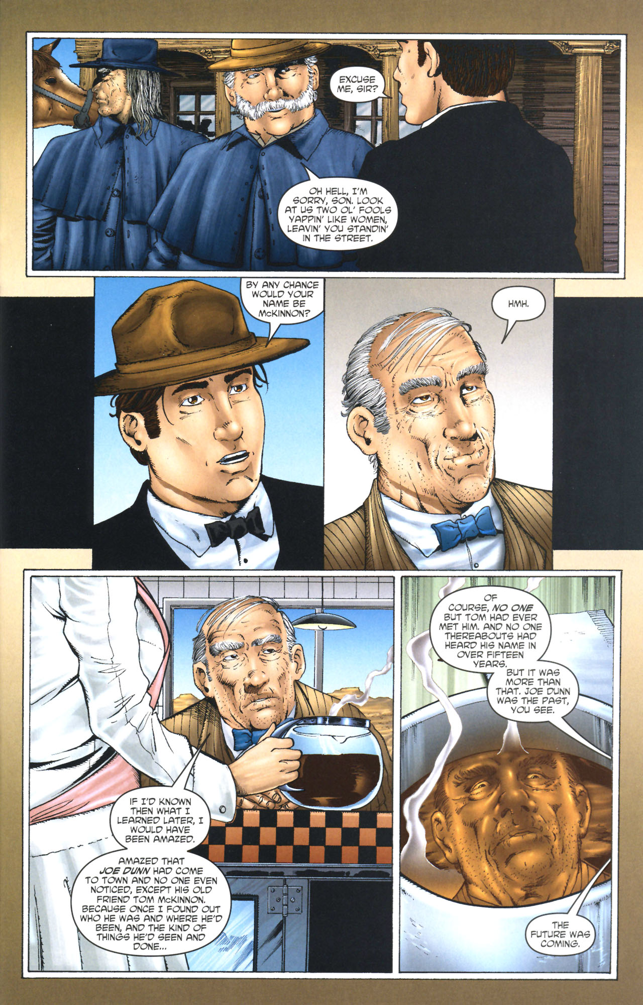 Read online Garth Ennis' Streets of Glory comic -  Issue #1 - 23