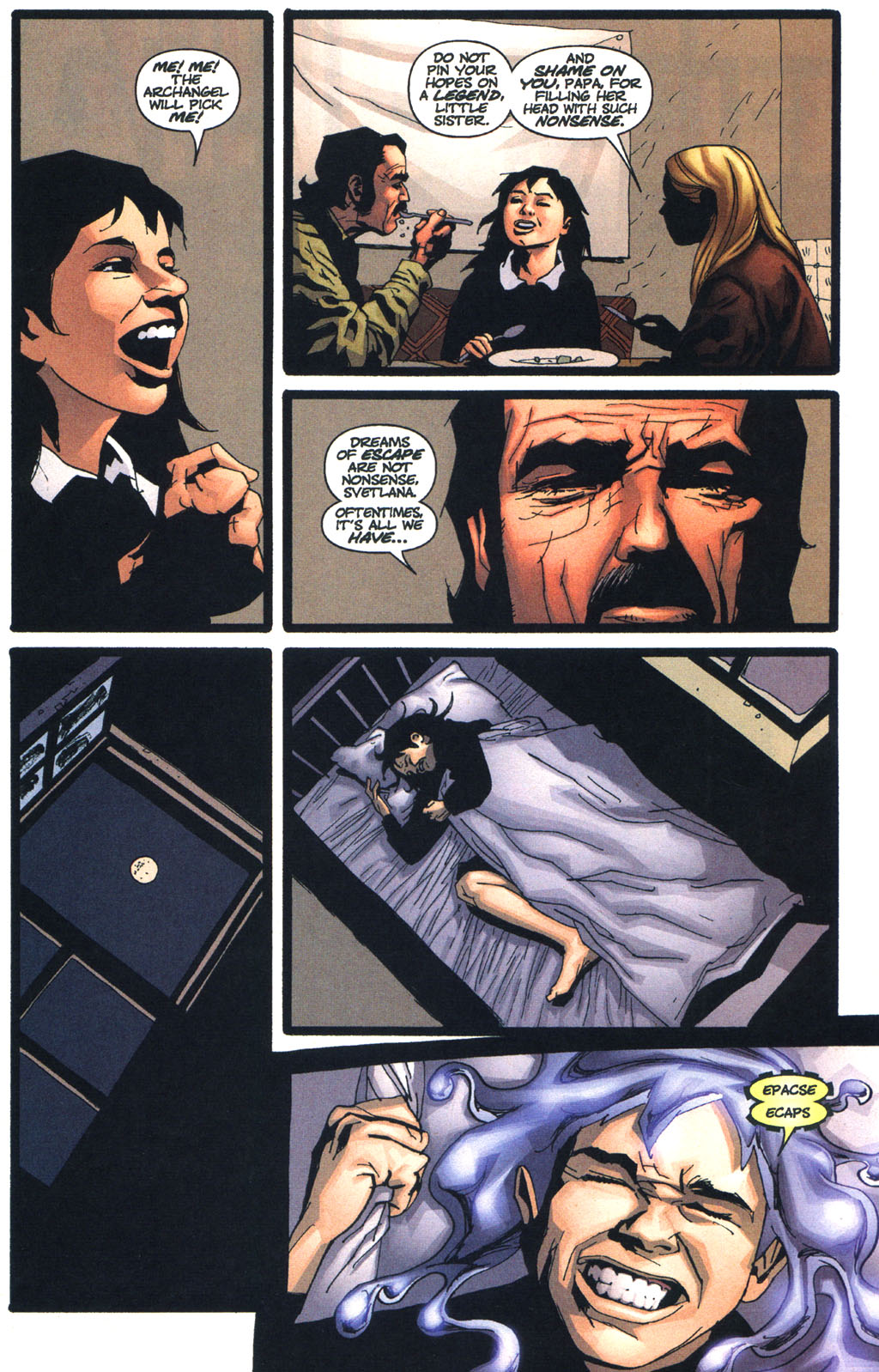 Wildcats (1999) Issue #13 #14 - English 4