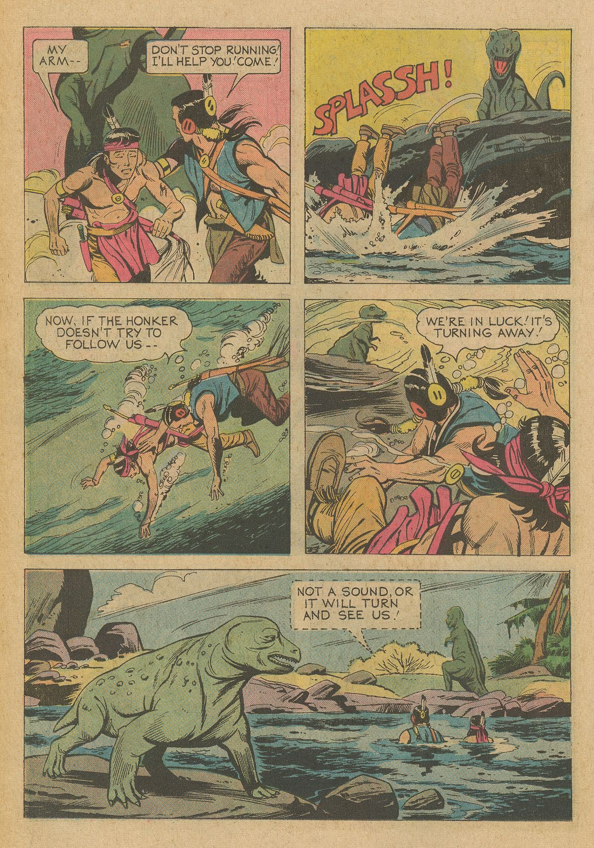 Read online Turok, Son of Stone comic -  Issue #95 - 22