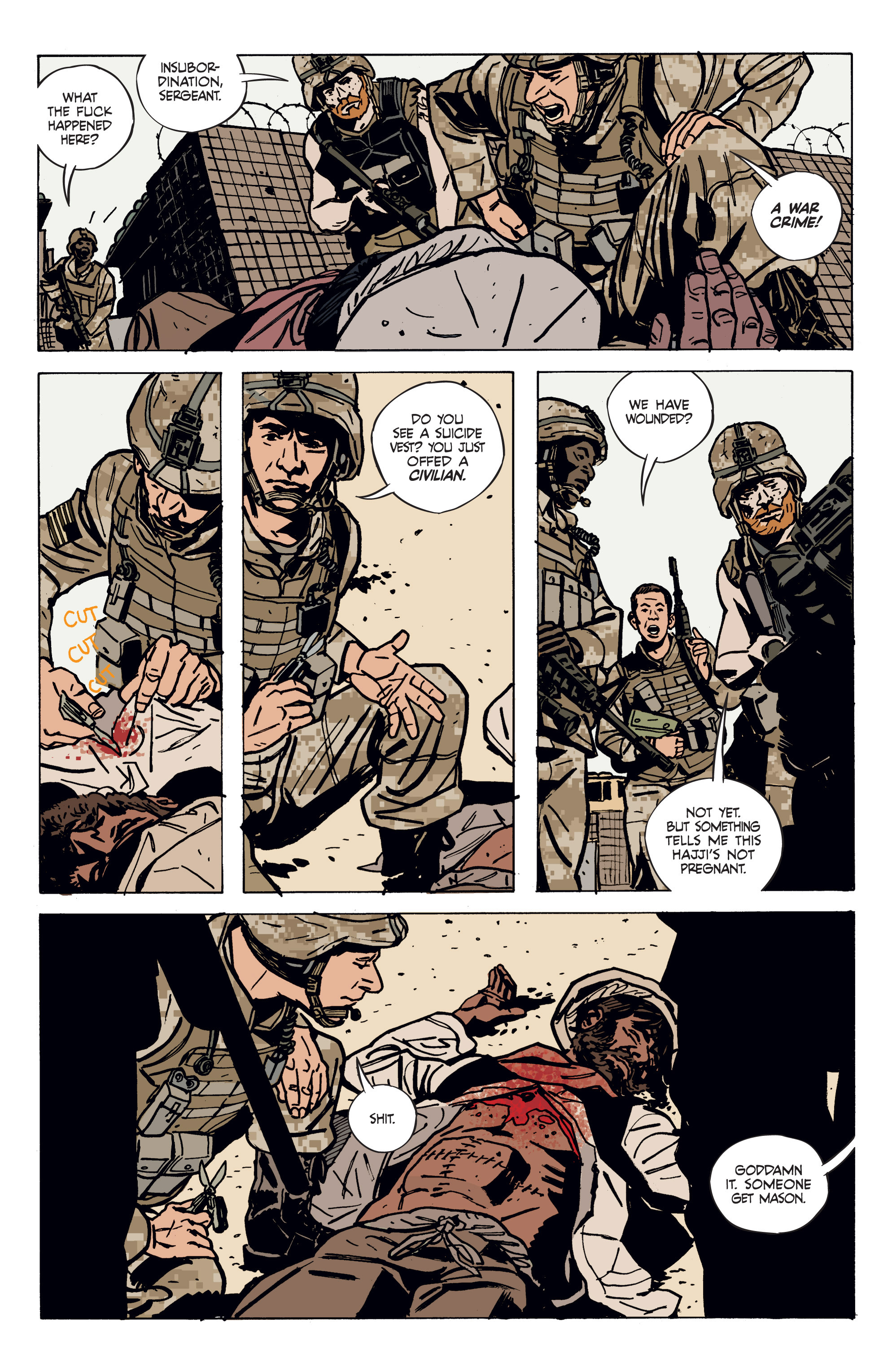 Read online Graveyard of Empires comic -  Issue # TPB - 13