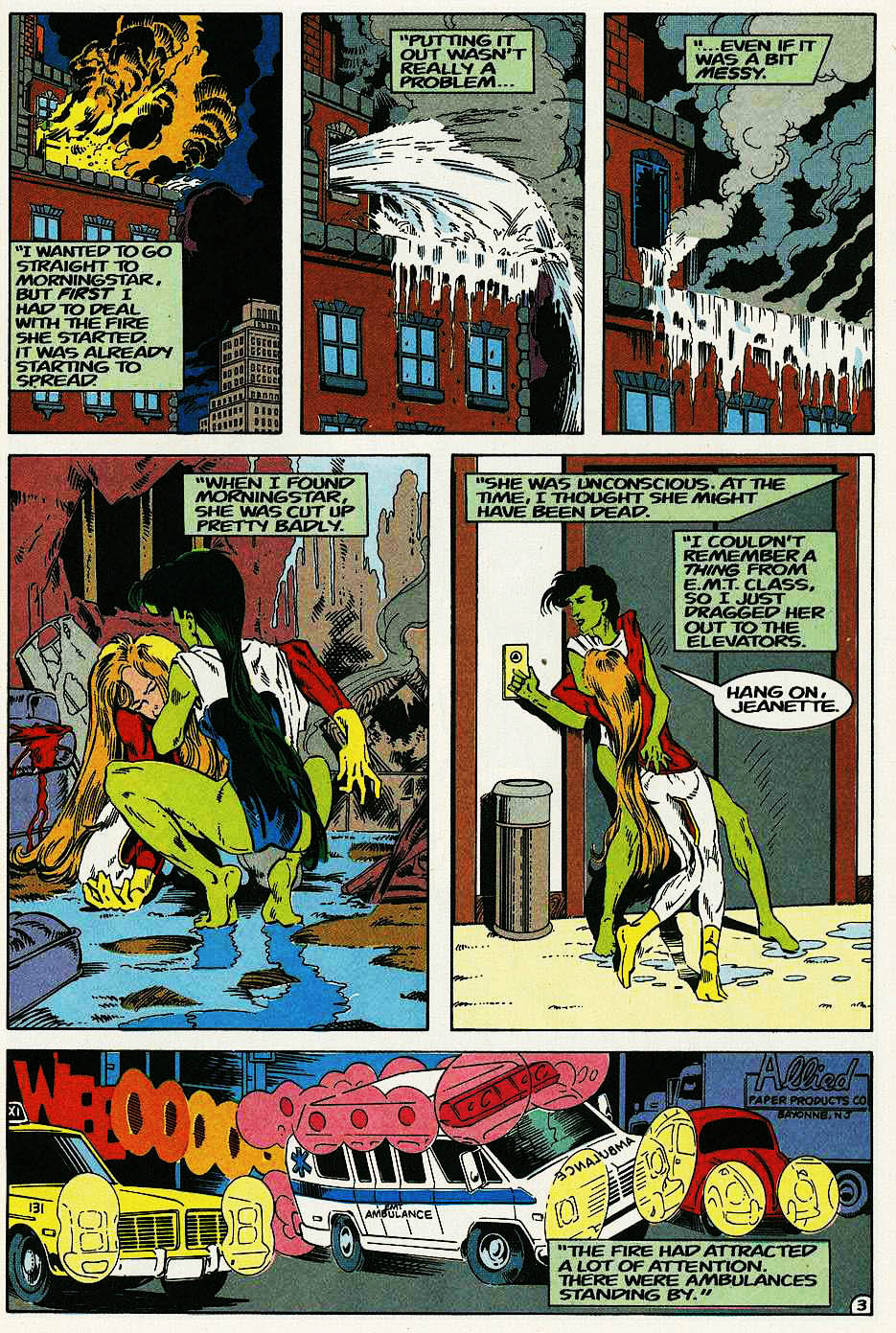 Elementals (1984) issue 17 - Page 5