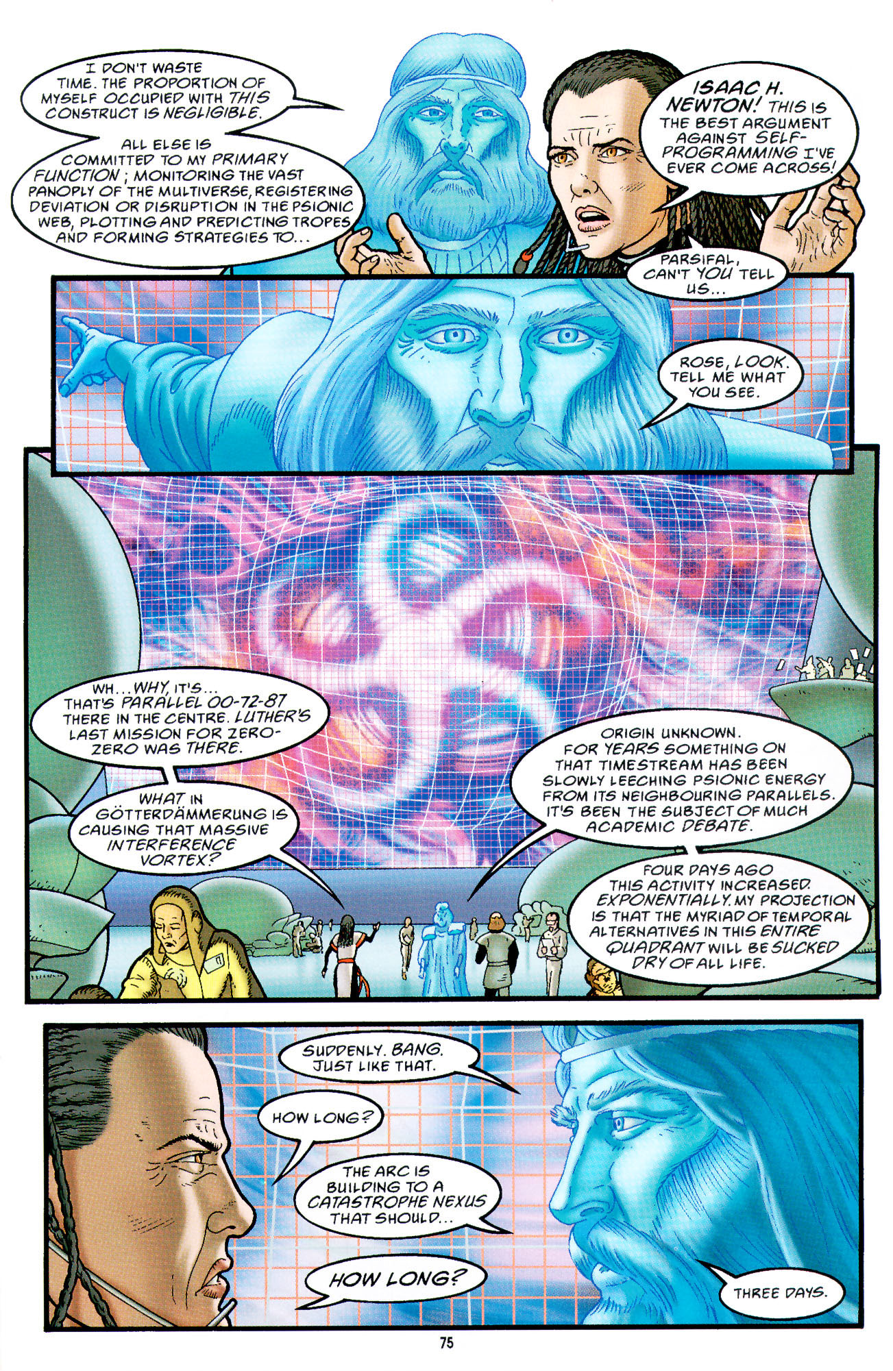 Read online Heart of Empire comic -  Issue #3 - 17