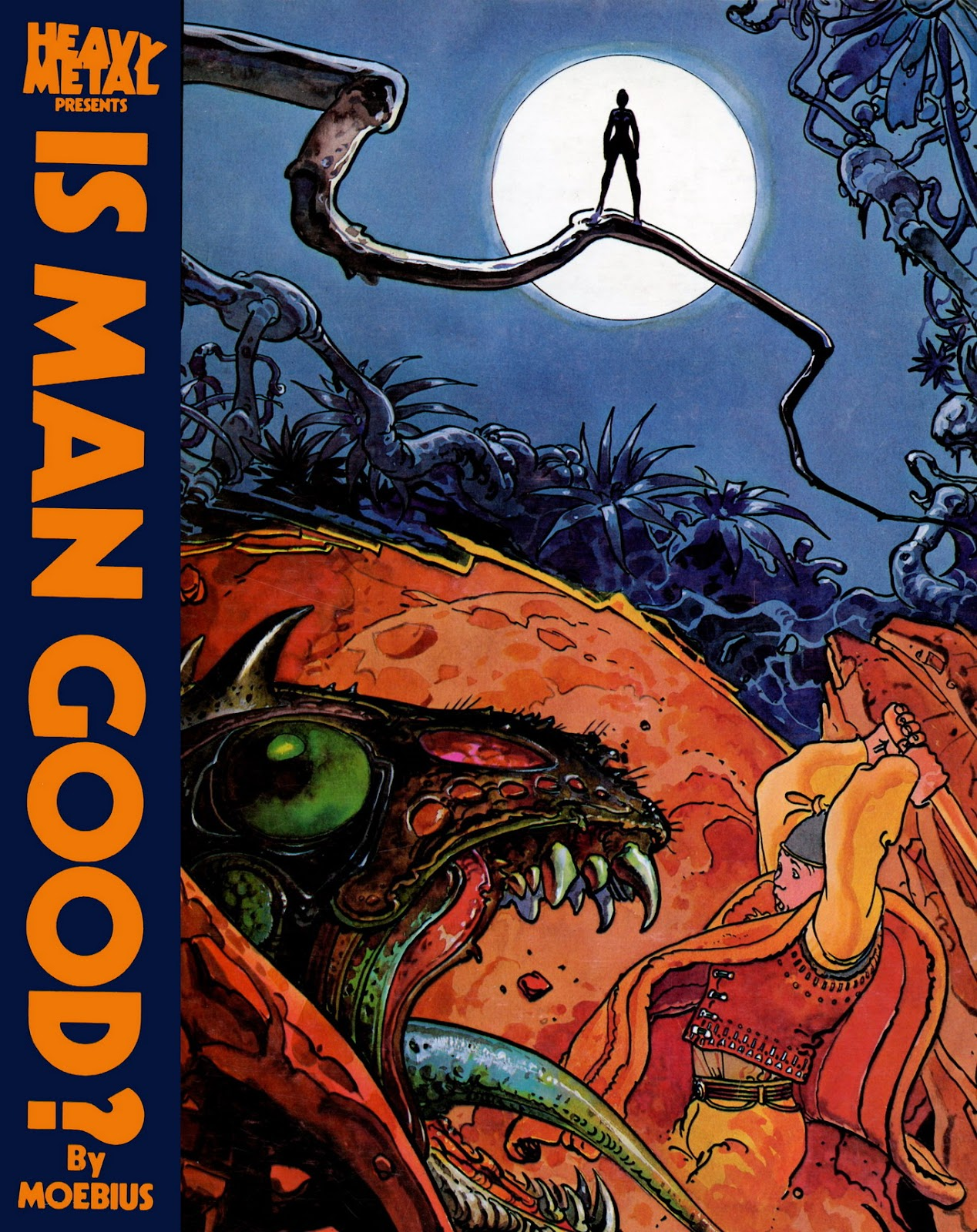 Heavy Metal Presents Is Man Good? issue Full - Page 1