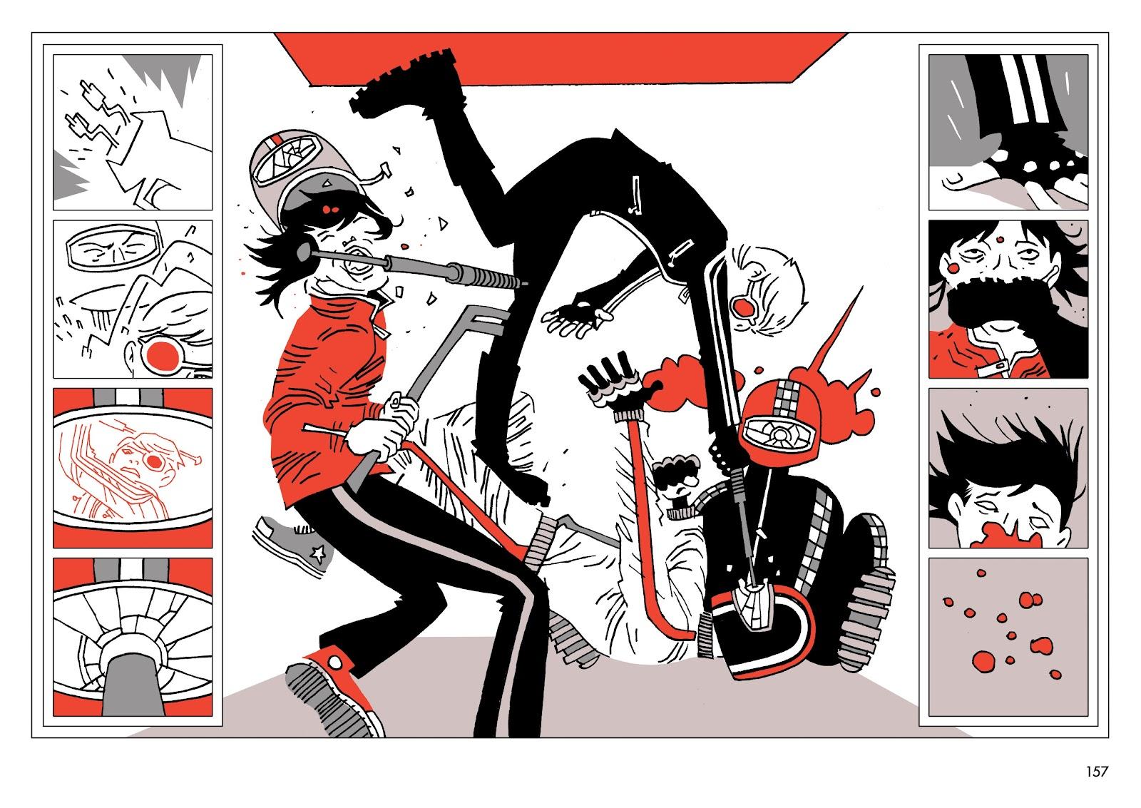 Read online Polar comic -  Issue # TPB The Kaiser Falls (Part 2) - 58