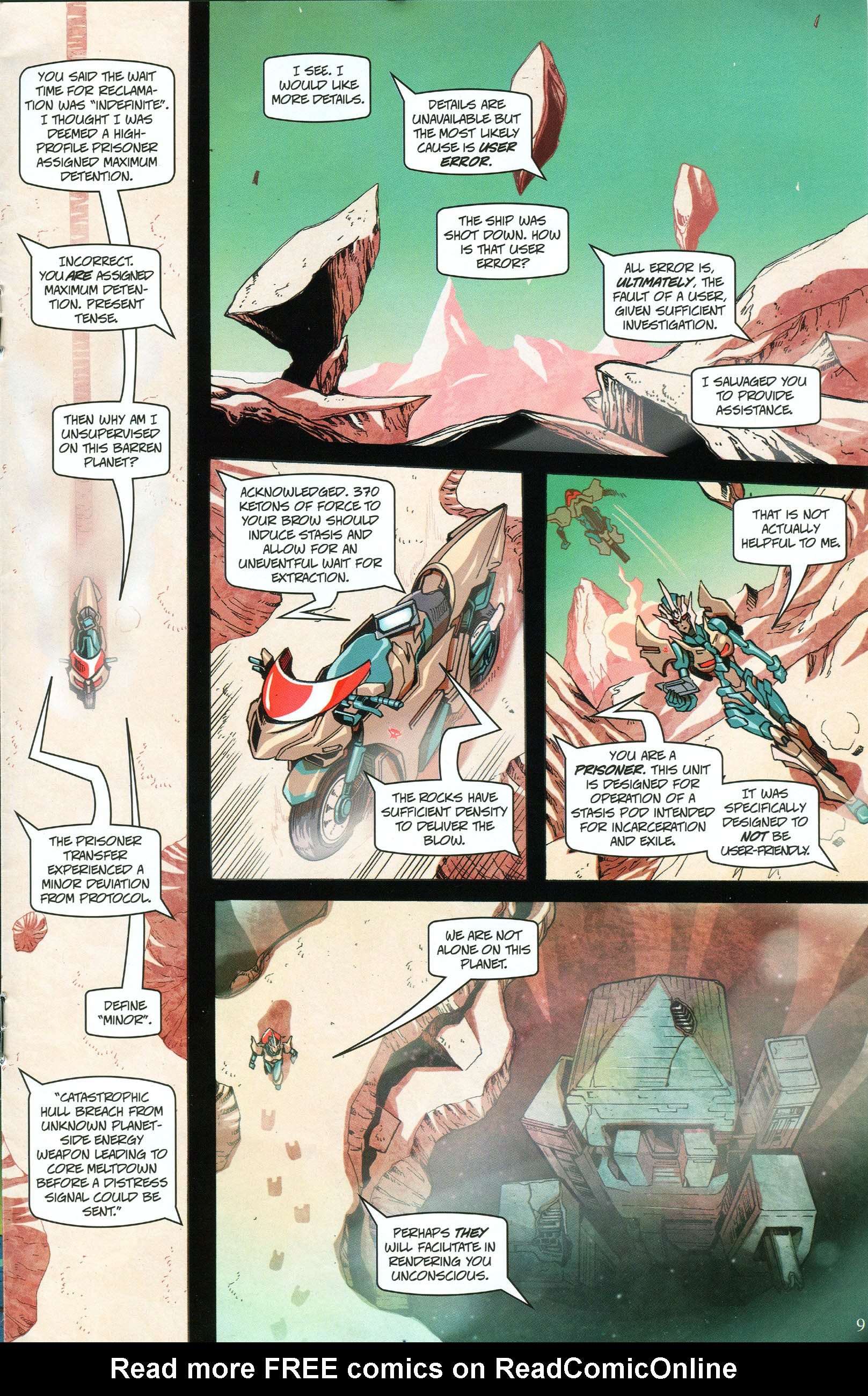 Read online Transformers: Collectors' Club comic -  Issue #57 - 9