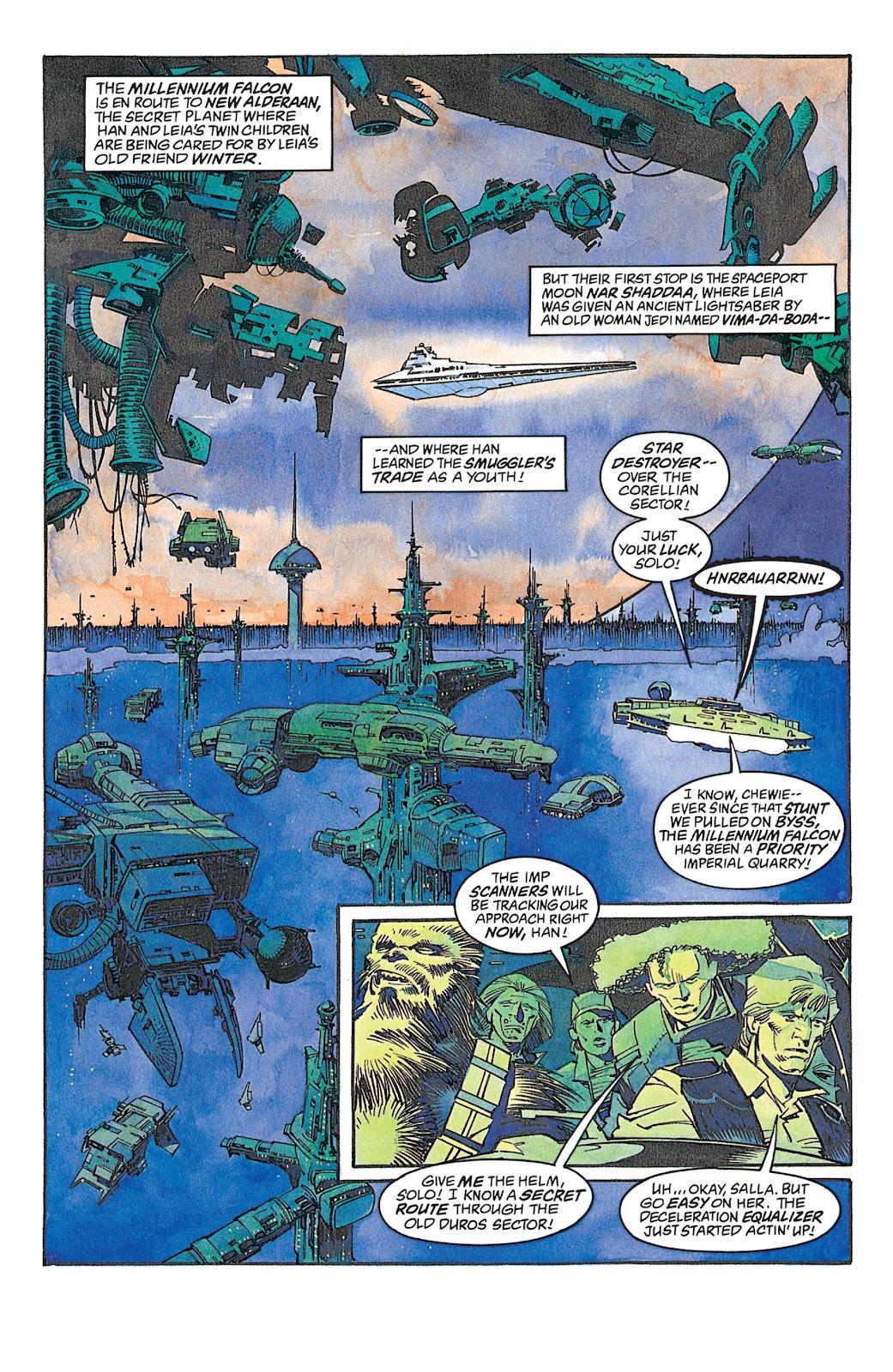 Read online Star Wars: Dark Empire Trilogy comic -  Issue # TPB (Part 2) - 83