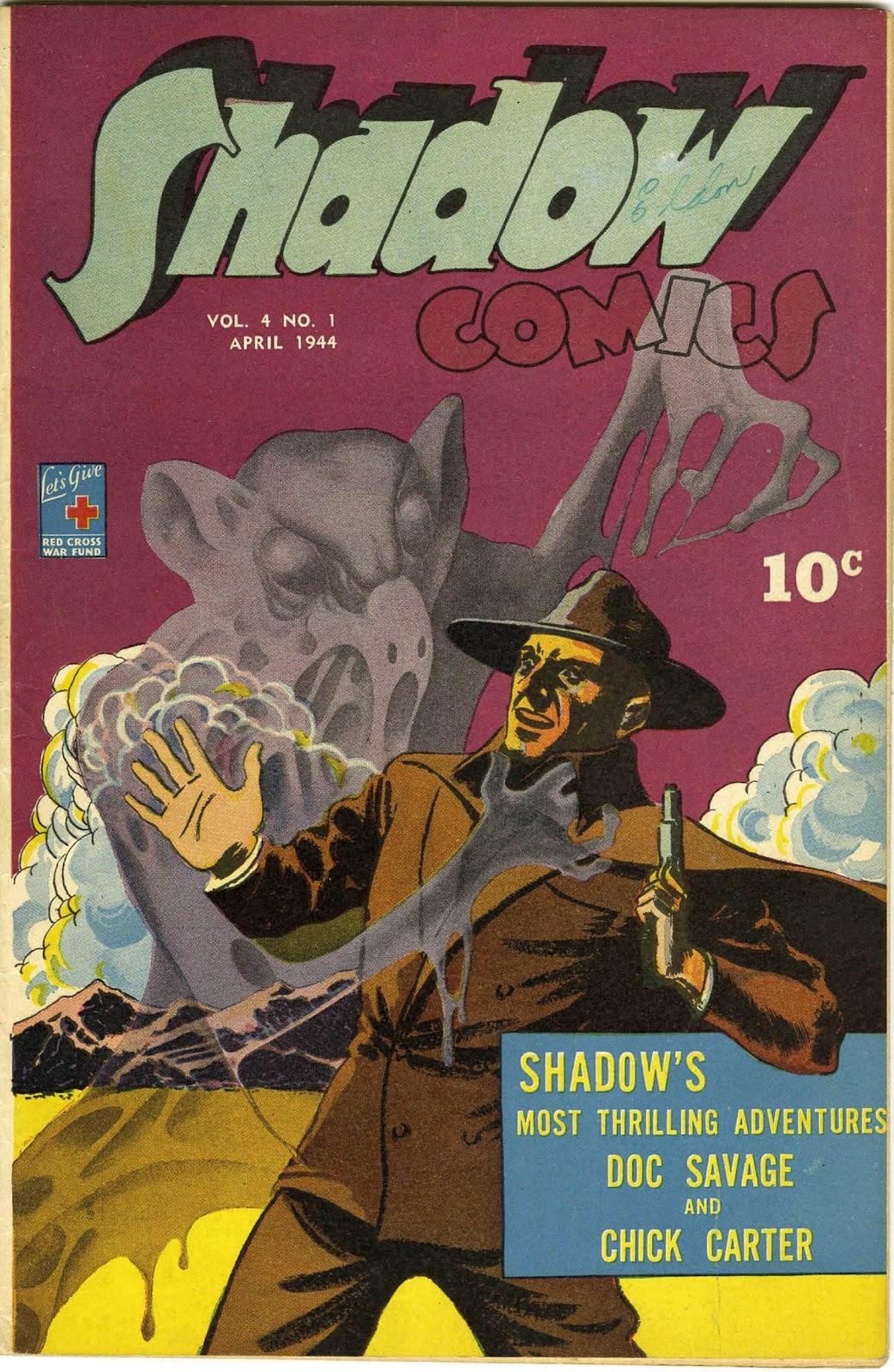 Shadow Comics 37 Page 1