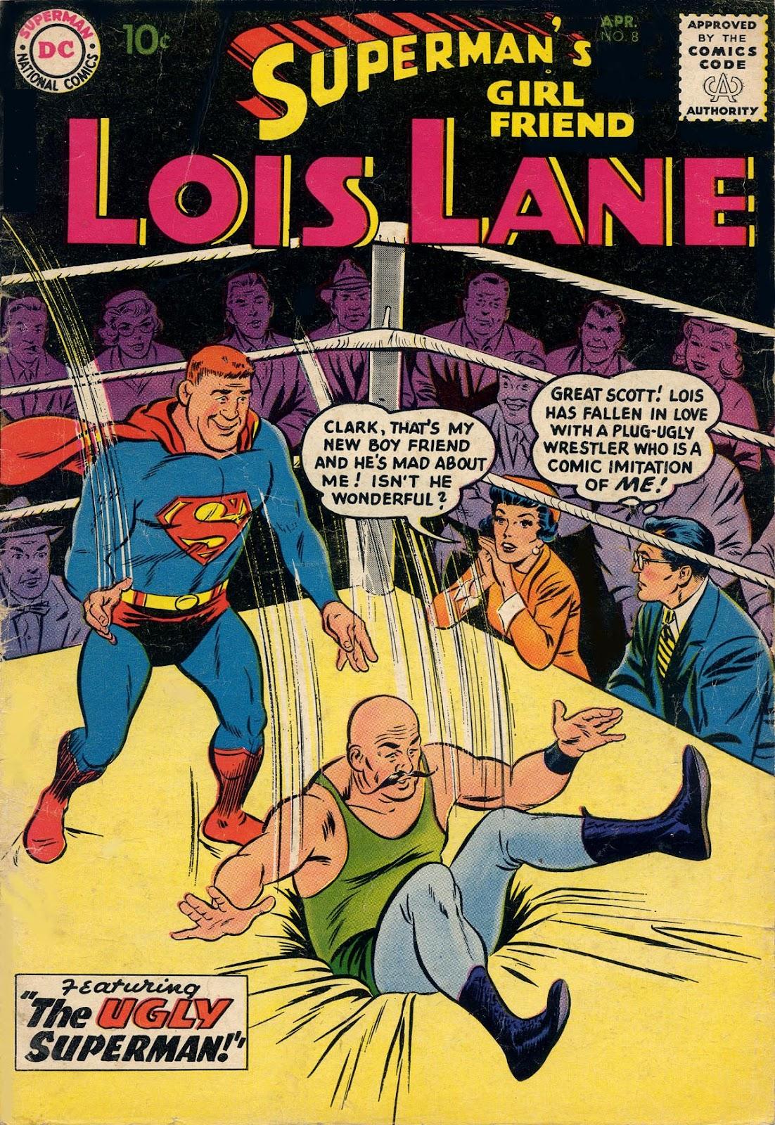 Supermans Girl Friend, Lois Lane 8 Page 1