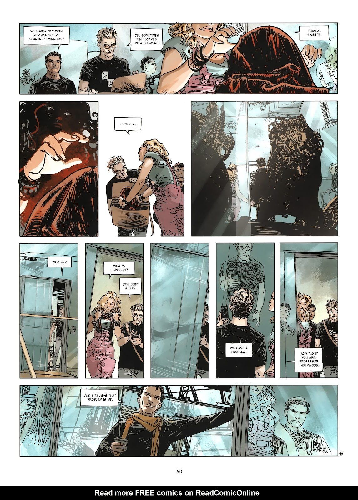Read online Cutting Edge (2013) comic -  Issue #3 - 46