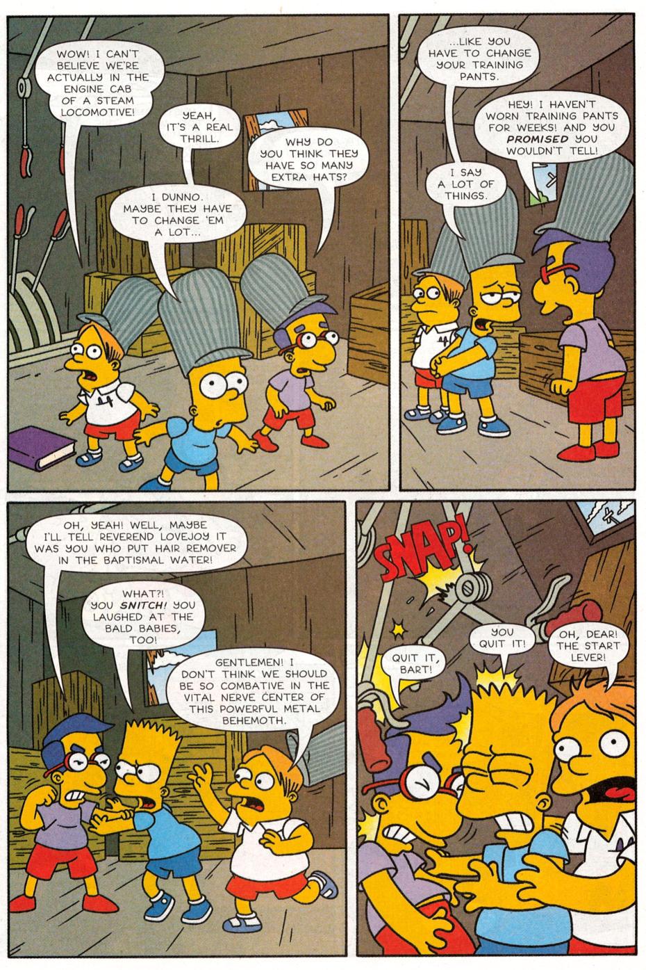 Read online Simpsons Comics Presents Bart Simpson comic -  Issue #30 - 21
