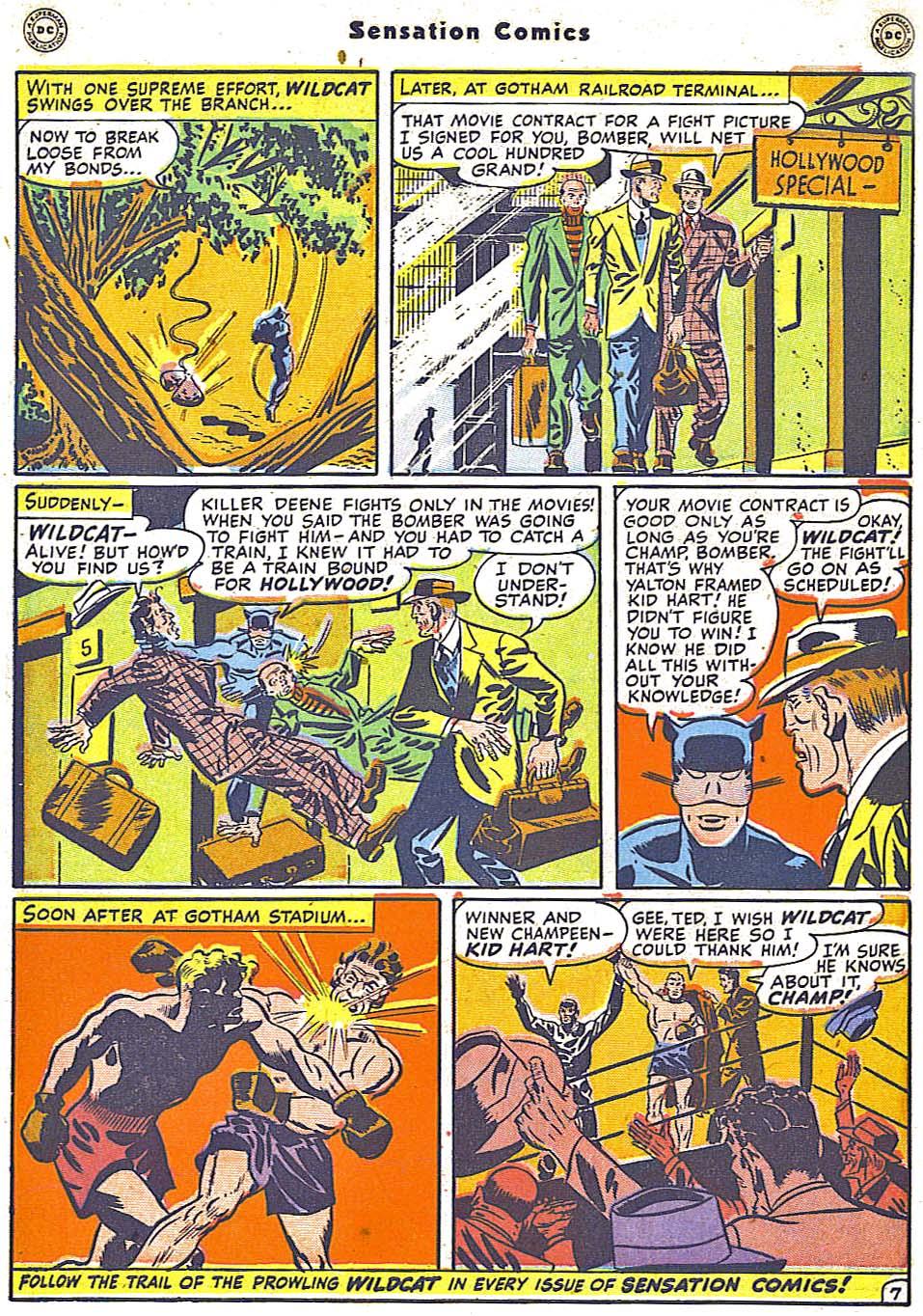 Read online Sensation (Mystery) Comics comic -  Issue #79 - 48