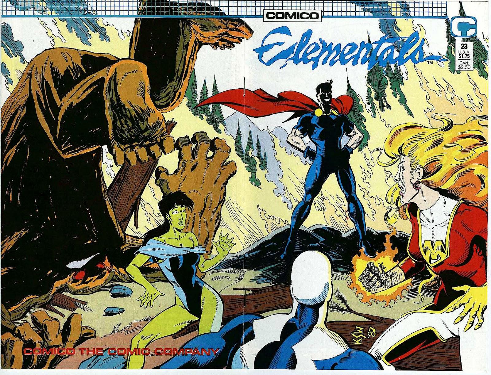 Elementals (1984) issue 23 - Page 1