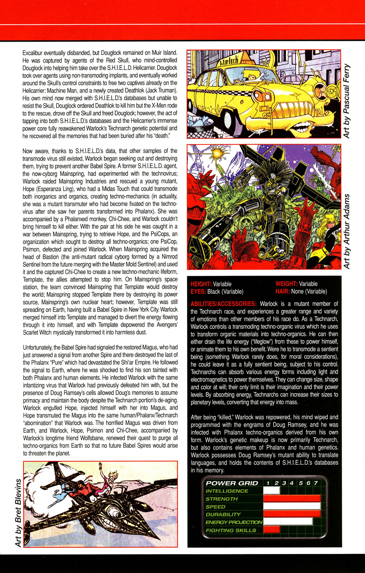 Read online All-New Official Handbook of the Marvel Universe A to Z comic -  Issue #12 - 27