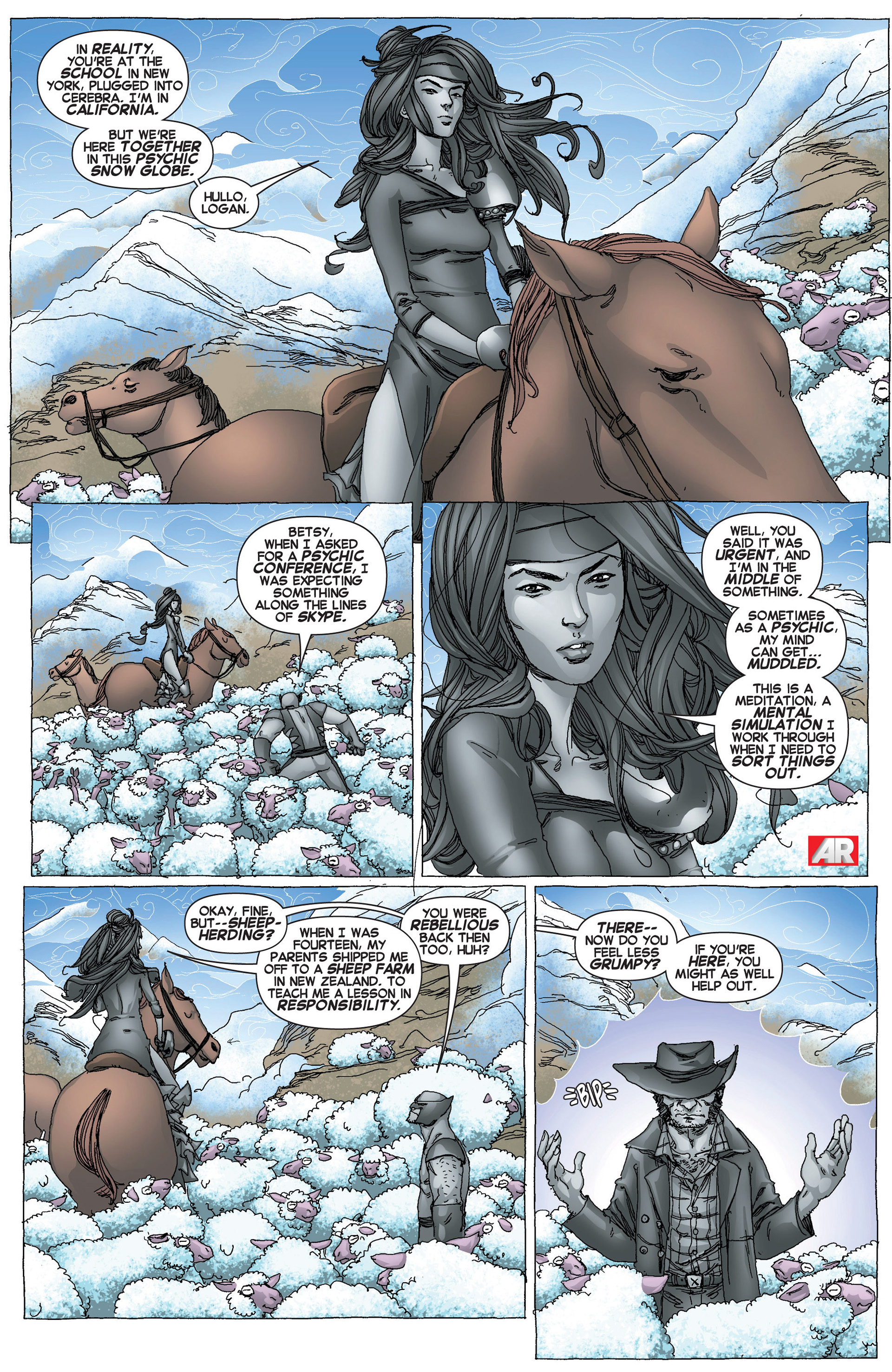 Read online Uncanny X-Force (2013) comic -  Issue #6 - 4