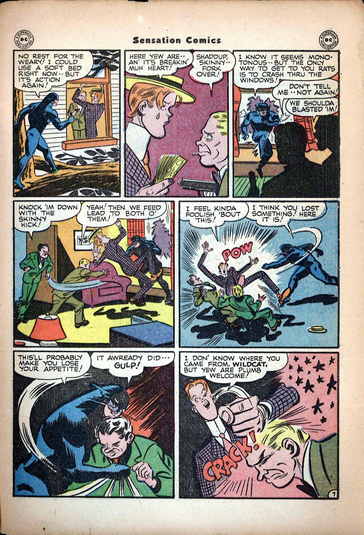Read online Sensation (Mystery) Comics comic -  Issue #62 - 49