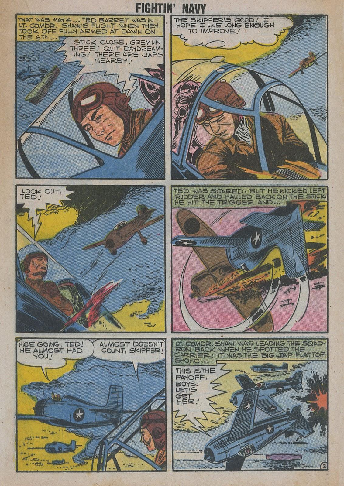 Read online Fightin' Navy comic -  Issue #82 - 39