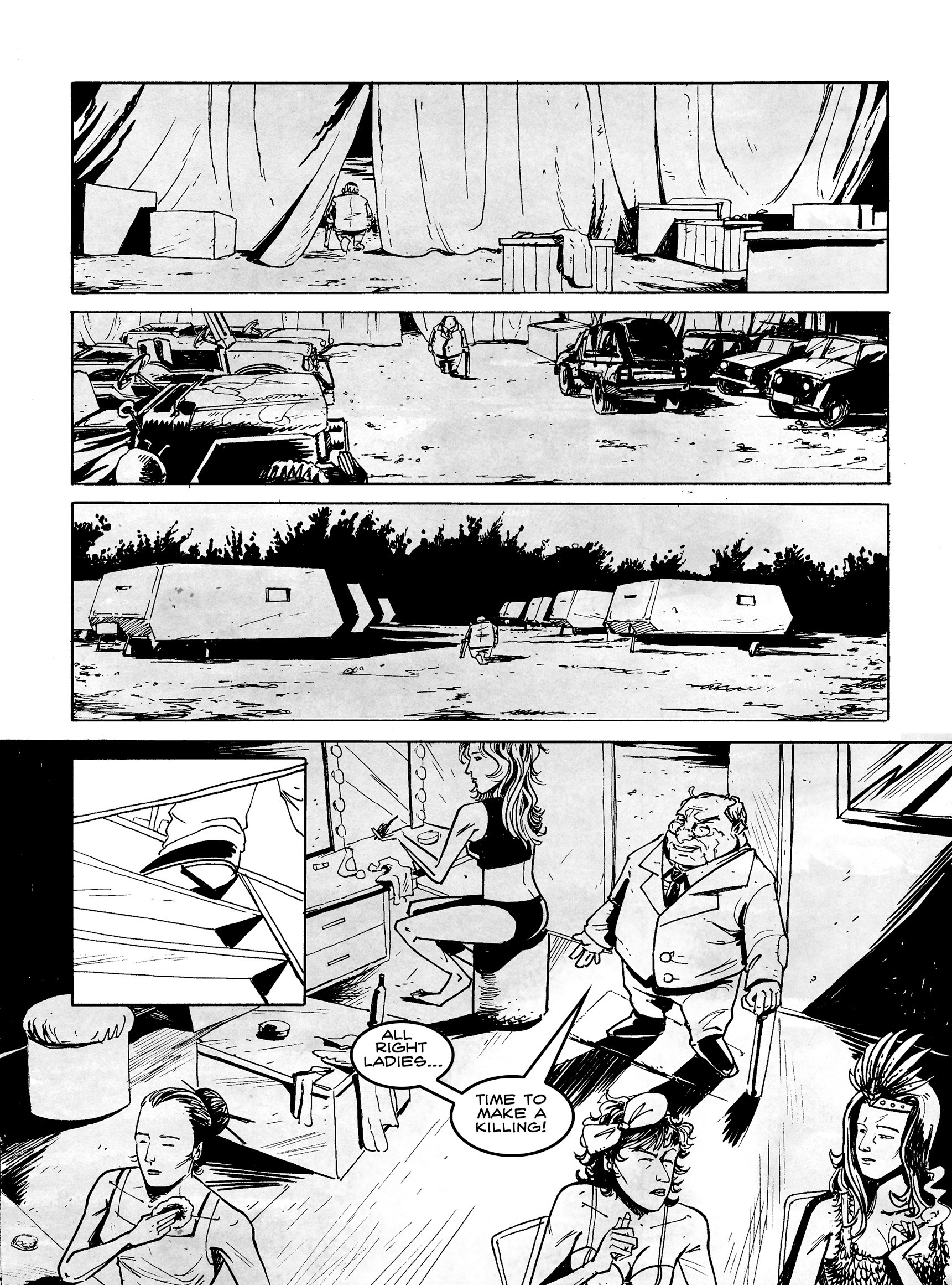 Read online FUBAR comic -  Issue #3 - 312