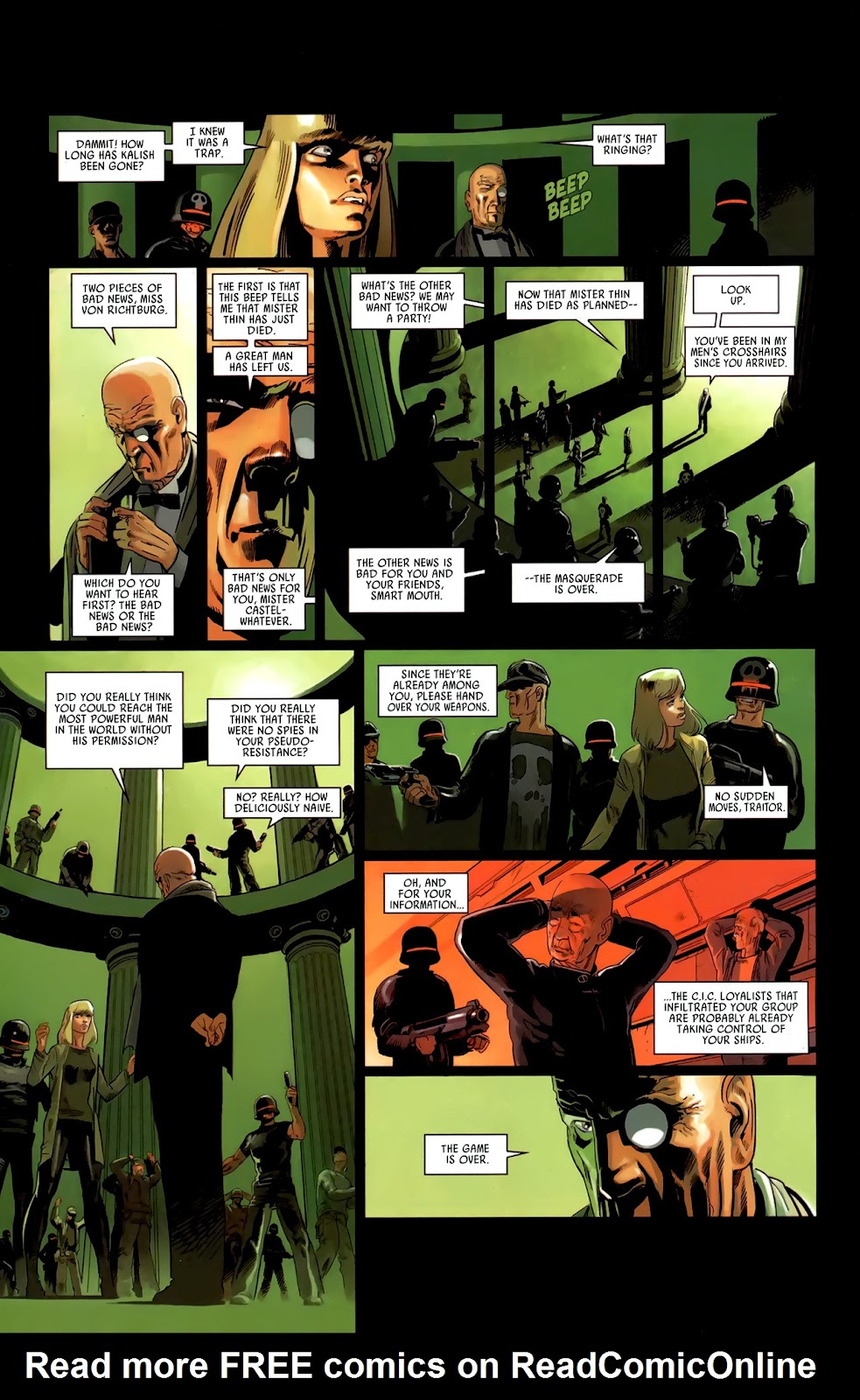 Read online Universal War One: Revelations comic -  Issue #3 - 40