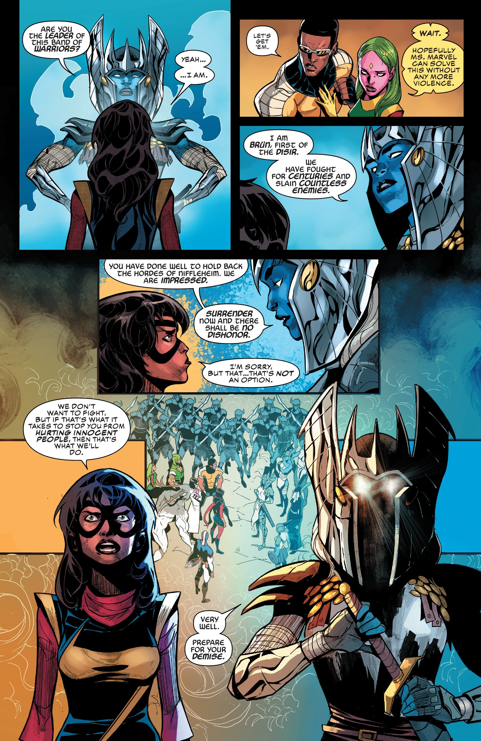 Read online Champions (2019) comic -  Issue #6 - 9