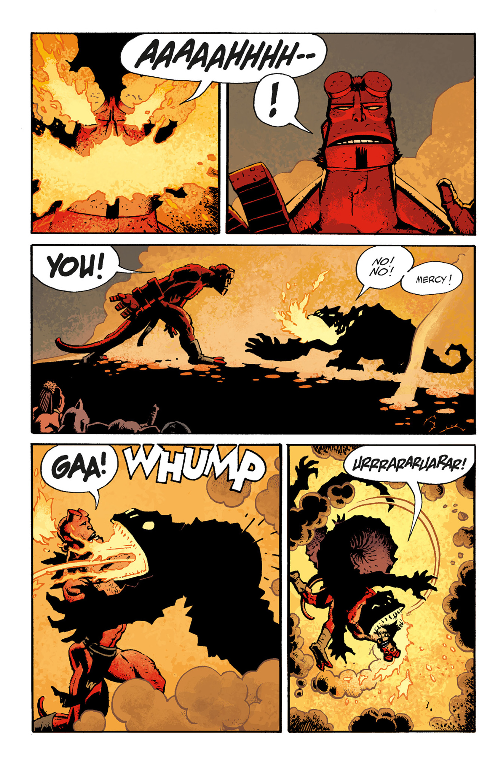 Read online Hellboy: The Troll Witch and Others comic -  Issue # TPB - 106