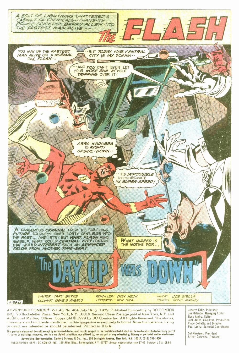 Read online Adventure Comics (1938) comic -  Issue #464 - 3