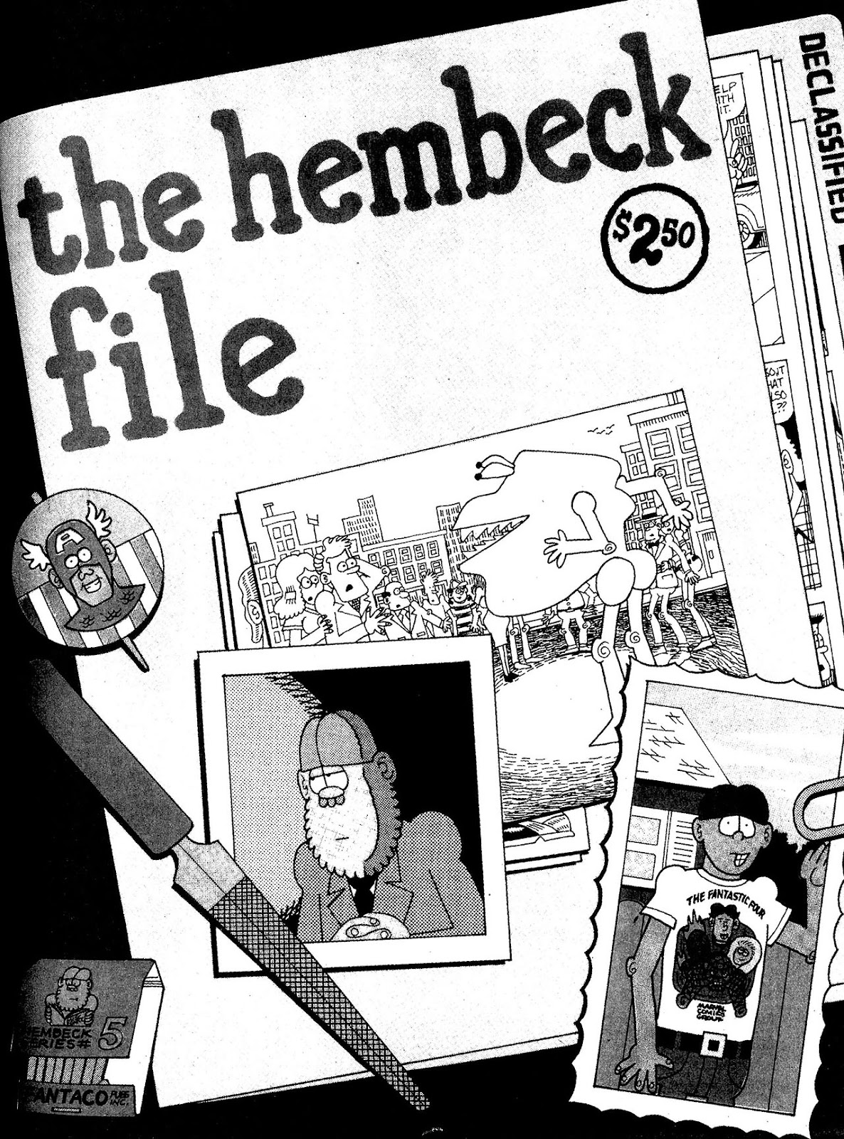 Read online The Nearly Complete Essential Hembeck Archives Omnibus comic -  Issue # TPB (Part 2) - 84