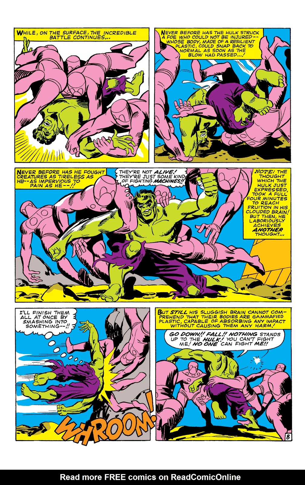 Read online Marvel Masterworks: The Incredible Hulk comic -  Issue # TPB 2 (Part 1) - 76