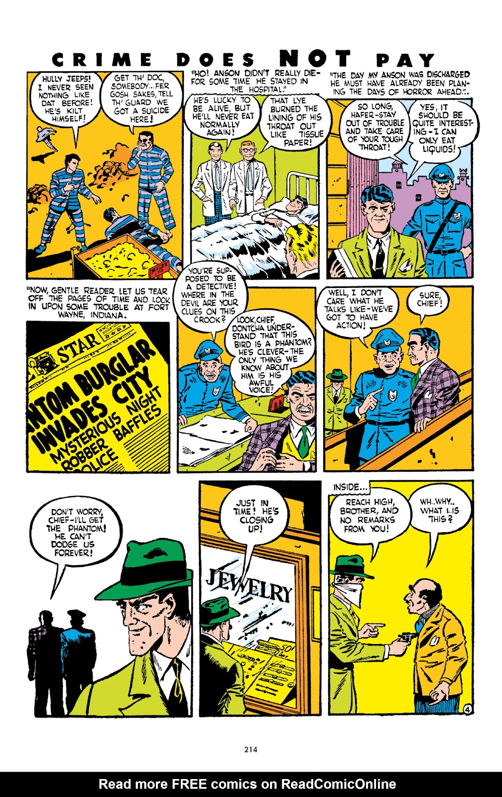 Read online Crime Does Not Pay Archives comic -  Issue # TPB 2 (Part 3) - 14
