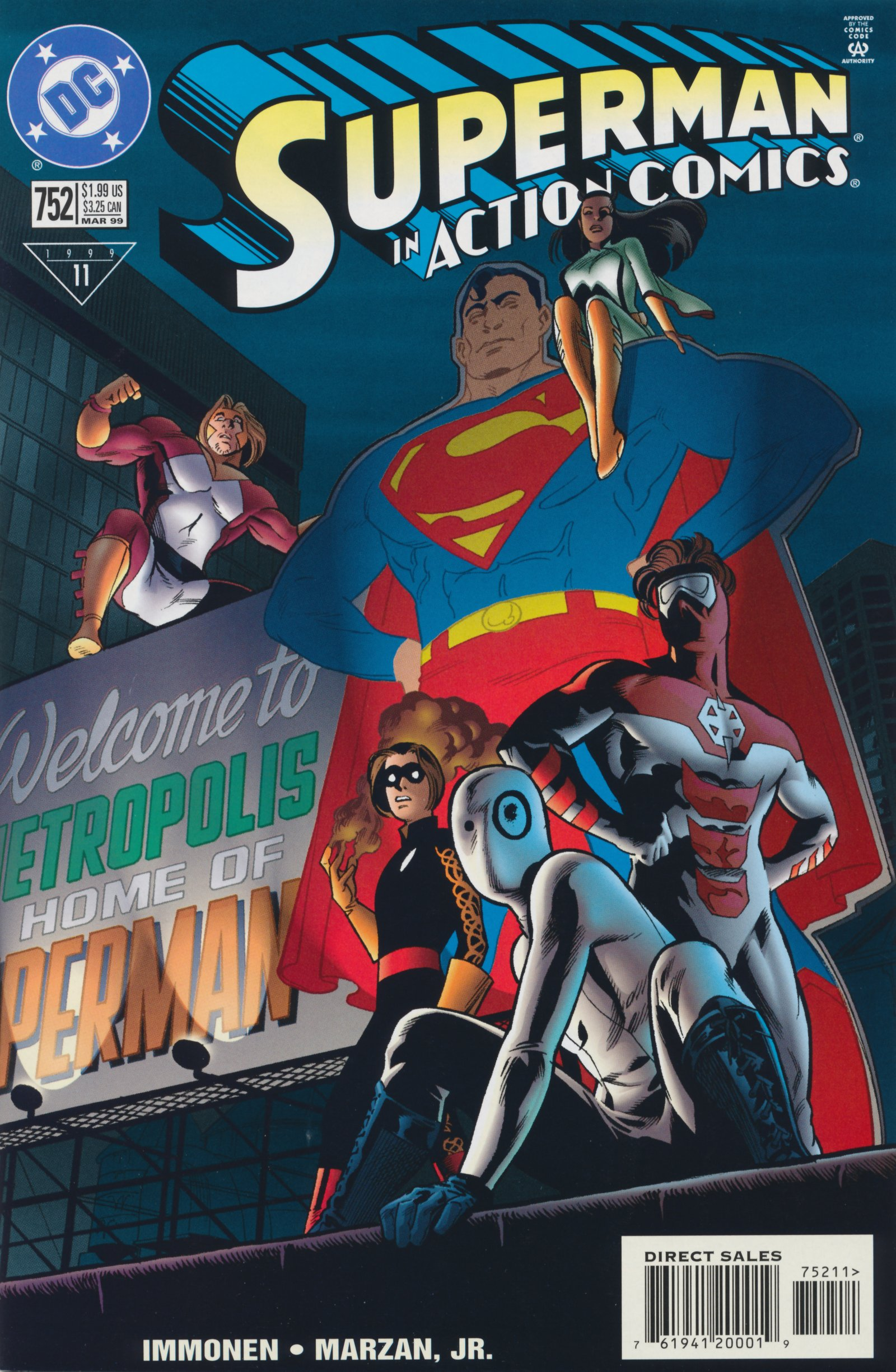 Read online Action Comics (1938) comic -  Issue #752 - 1