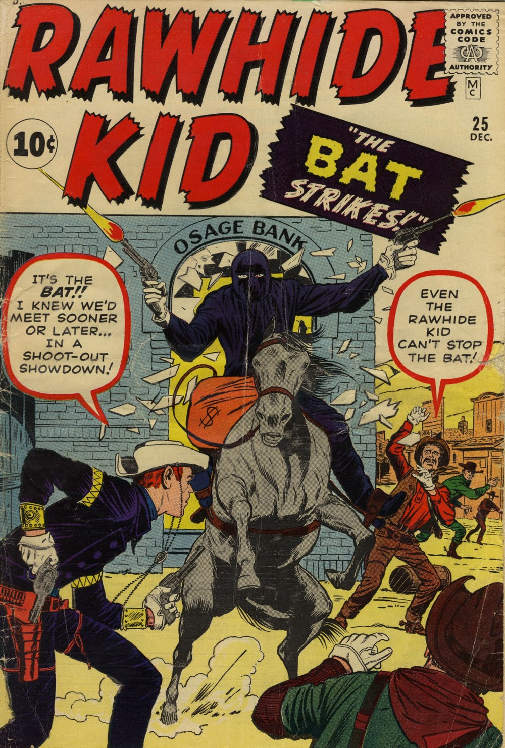 The Rawhide Kid (1955) issue 25 - Page 1