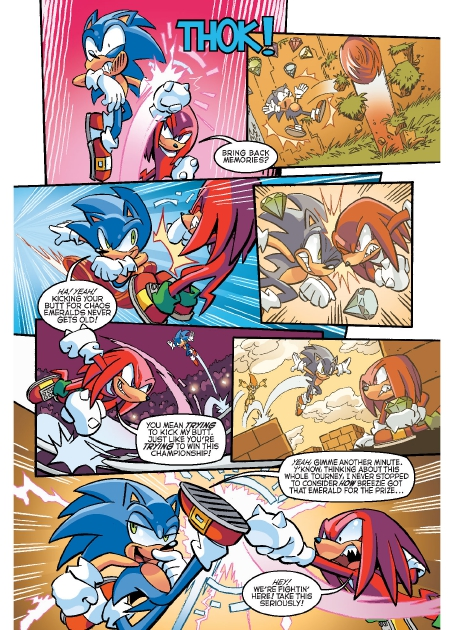 Read online Sonic Comics Spectacular: Speed of Sound comic -  Issue # Full - 60