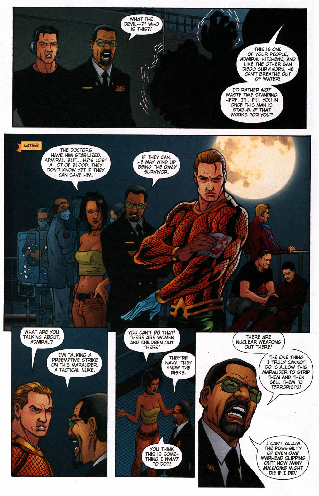 Read online Aquaman (2003) comic -  Issue #24 - 11