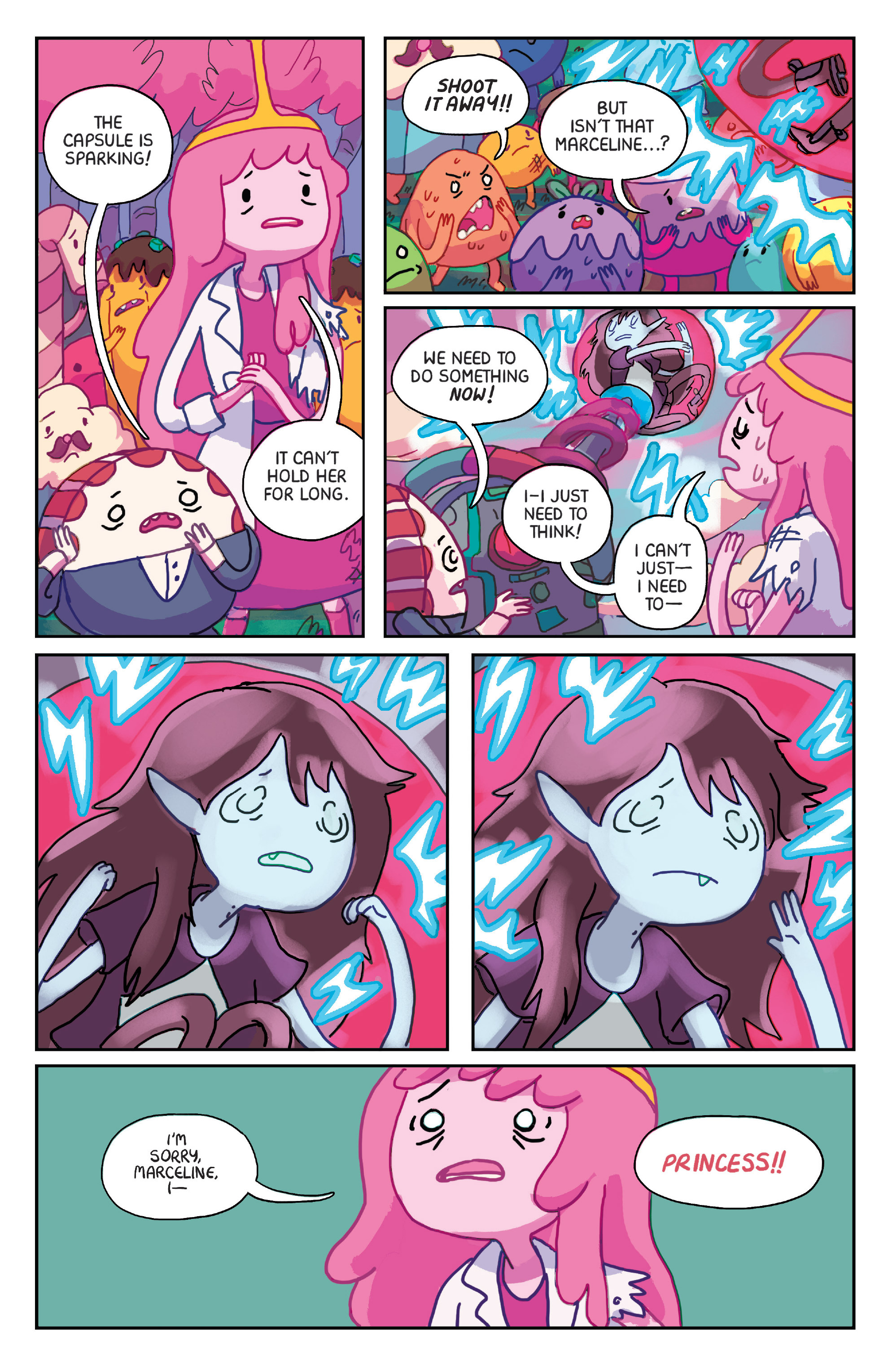 Read online Adventure Time: Marceline Gone Adrift comic -  Issue #1 - 18