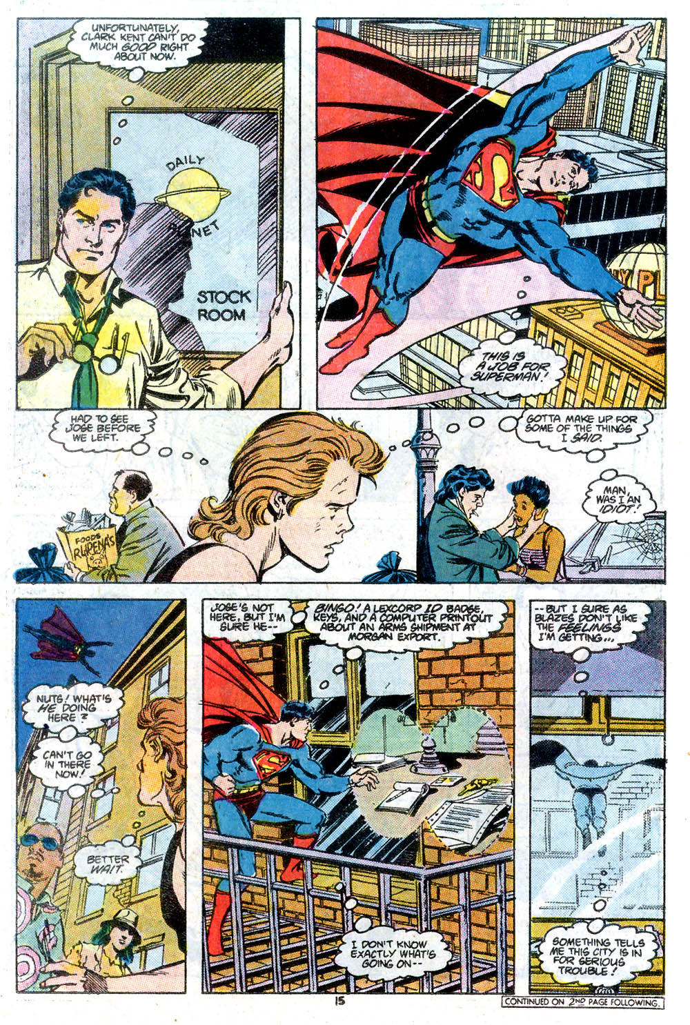 Read online Adventures of Superman (1987) comic -  Issue #434 - 16