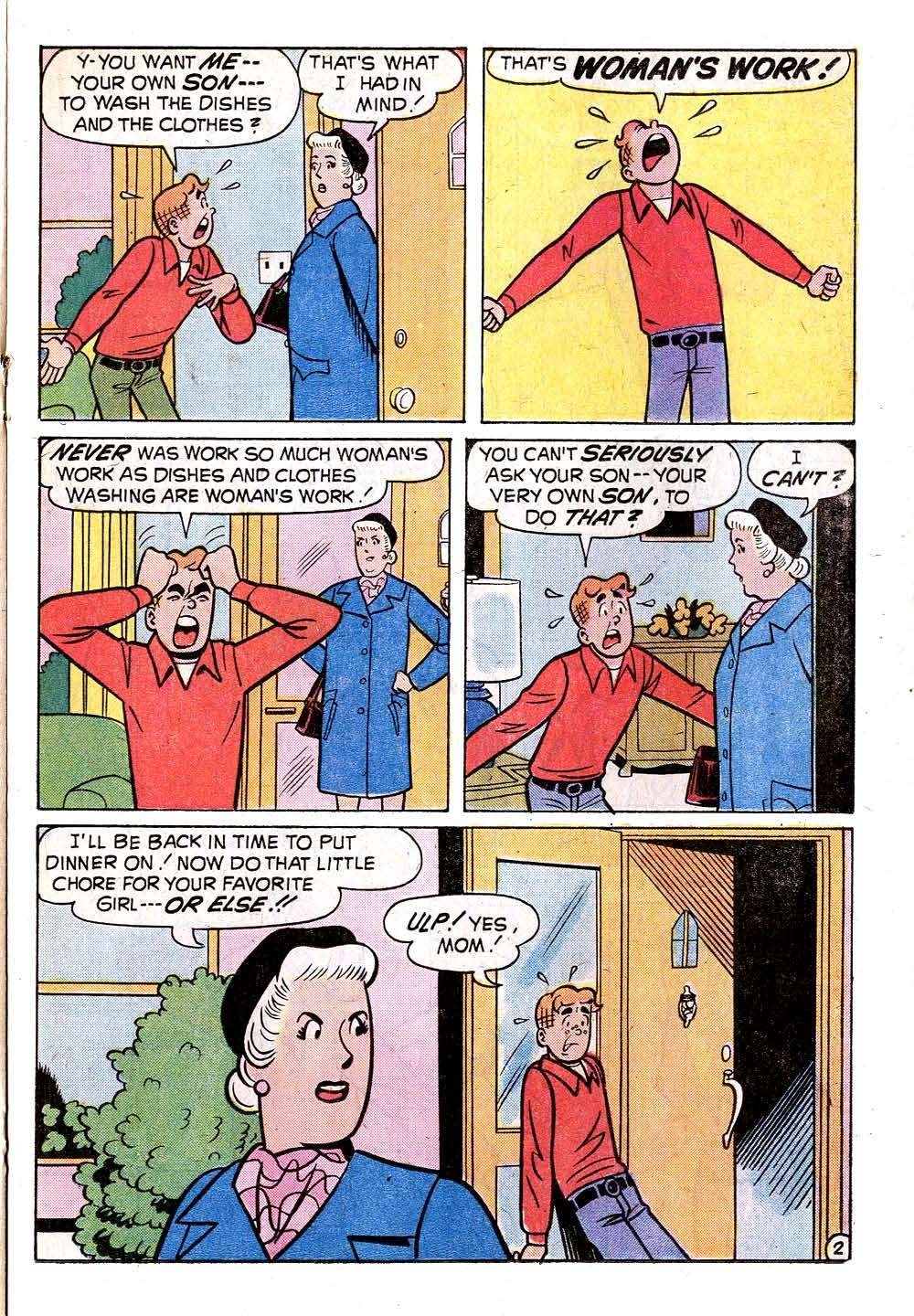 Read online Archie (1960) comic -  Issue #235 - 21