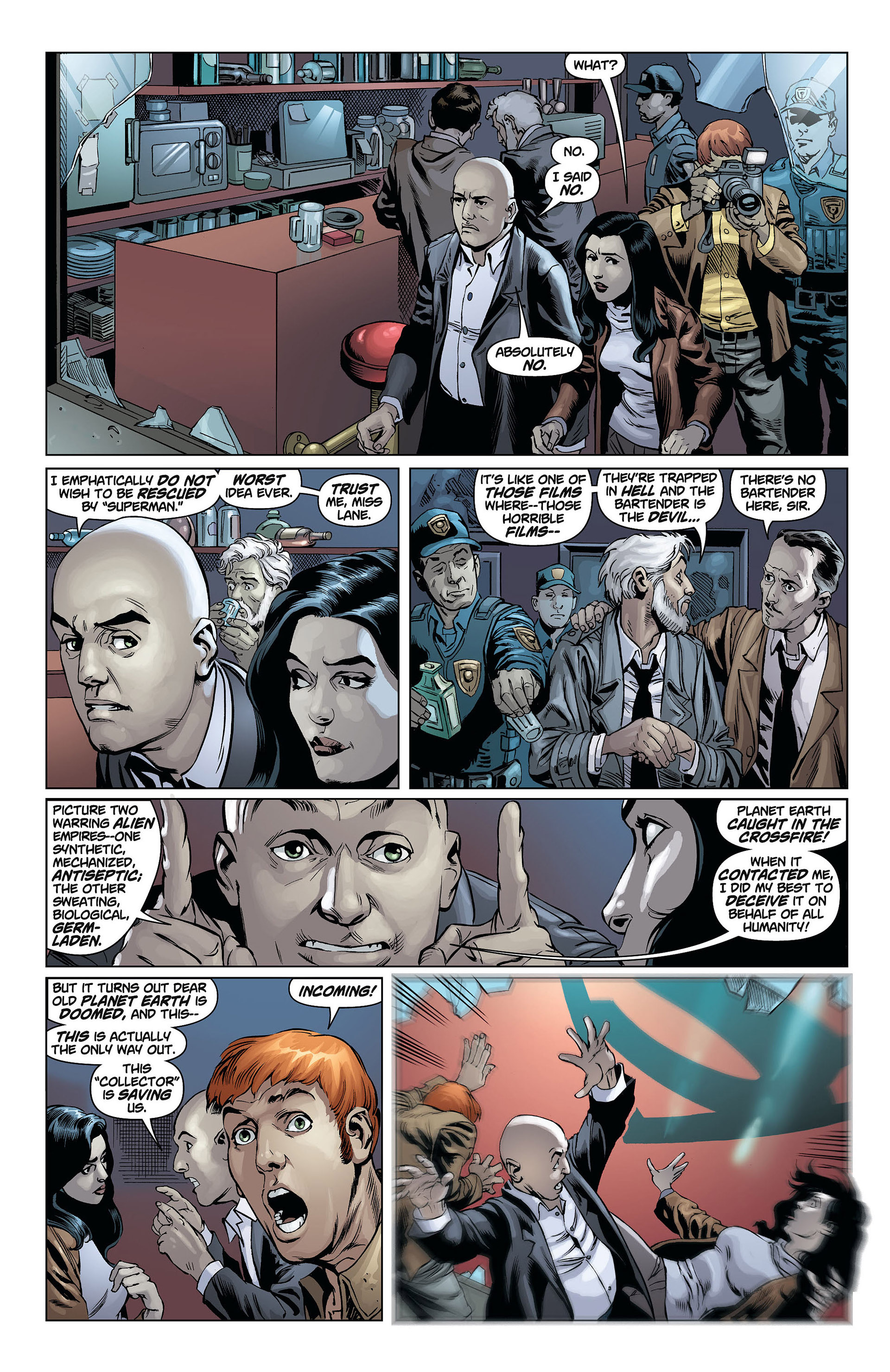 Read online Action Comics (2011) comic -  Issue #8 - 5