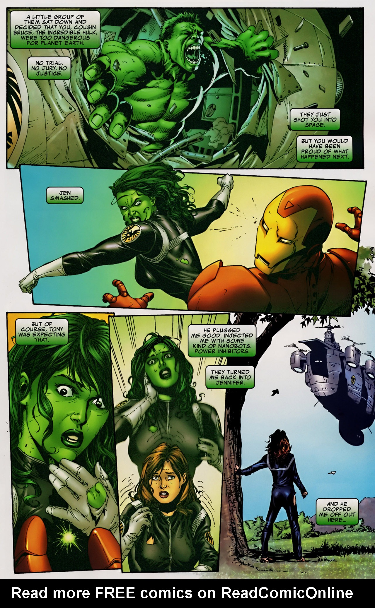 Read online The Incredible Hulk (2000) comic -  Issue #106 - 4