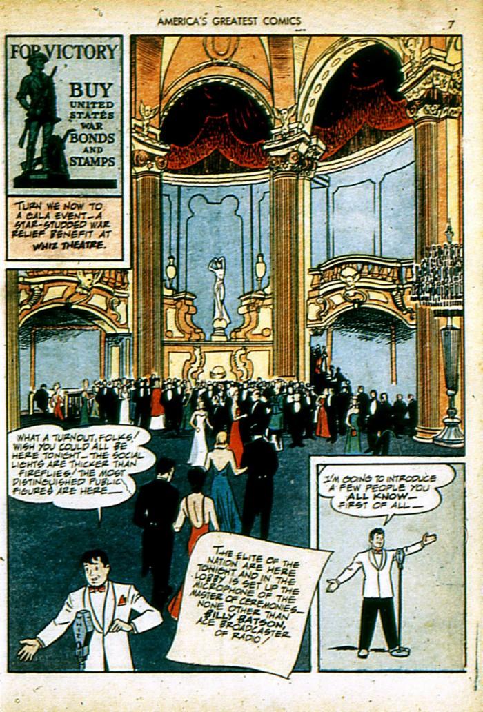 Read online America's Greatest Comics comic -  Issue #4 - 7