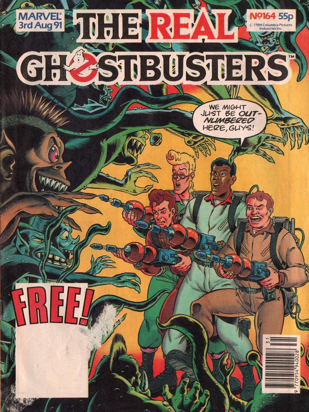 The Real Ghostbusters 164 Page 1