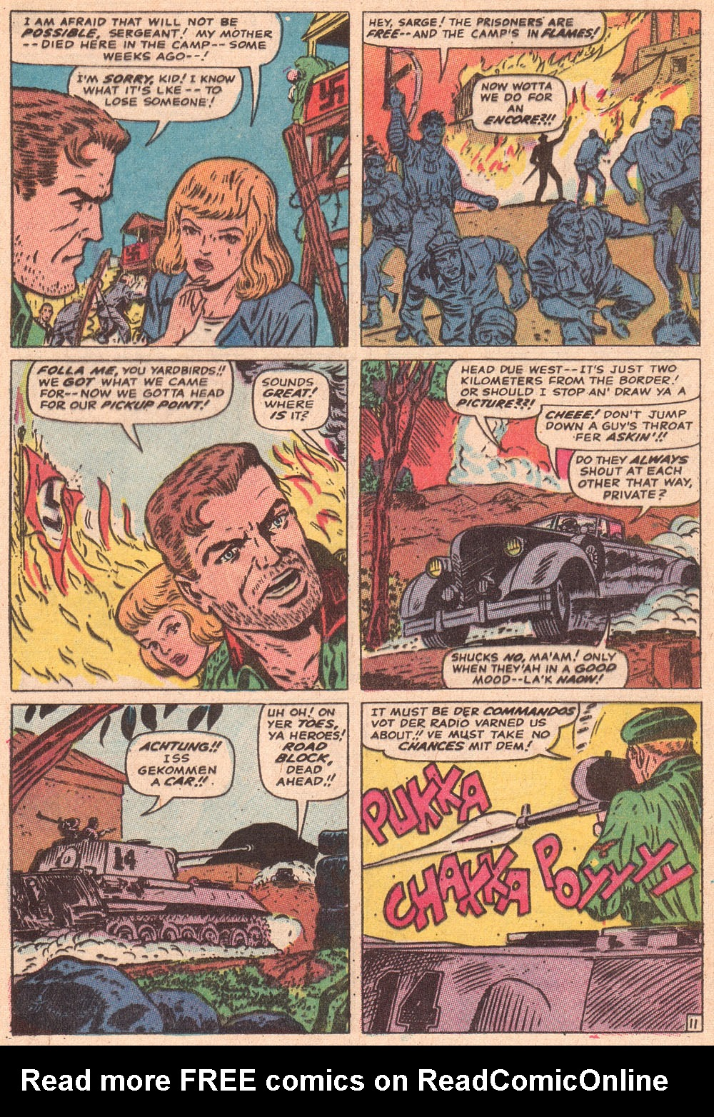 Read online Sgt. Fury comic -  Issue #80 - 17