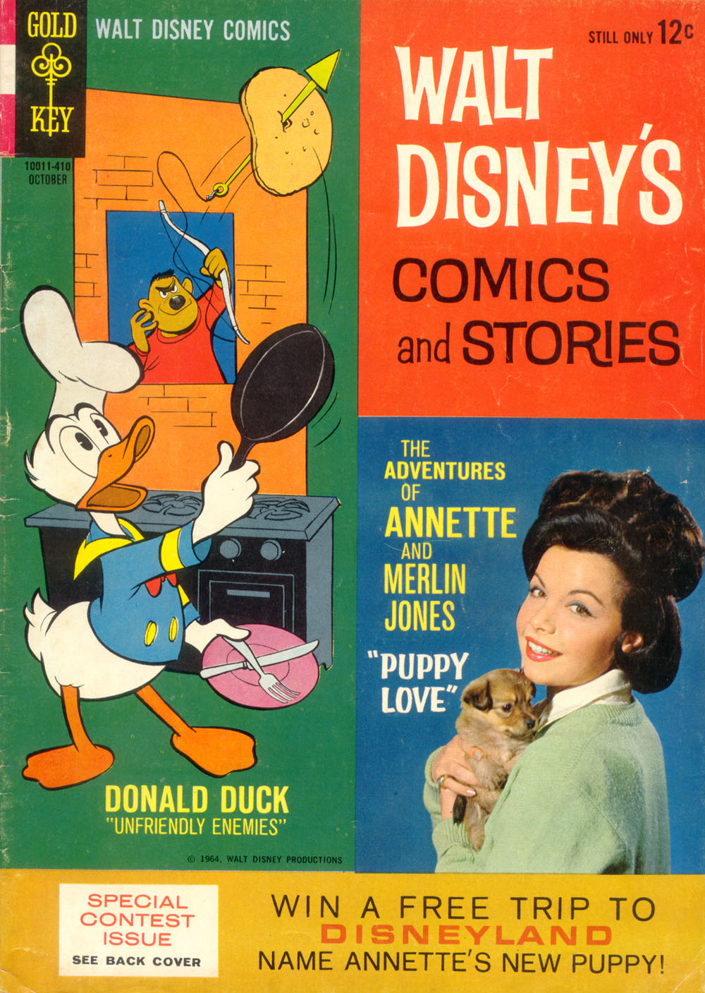 Walt Disney's Comics and Stories issue 289 - Page 1