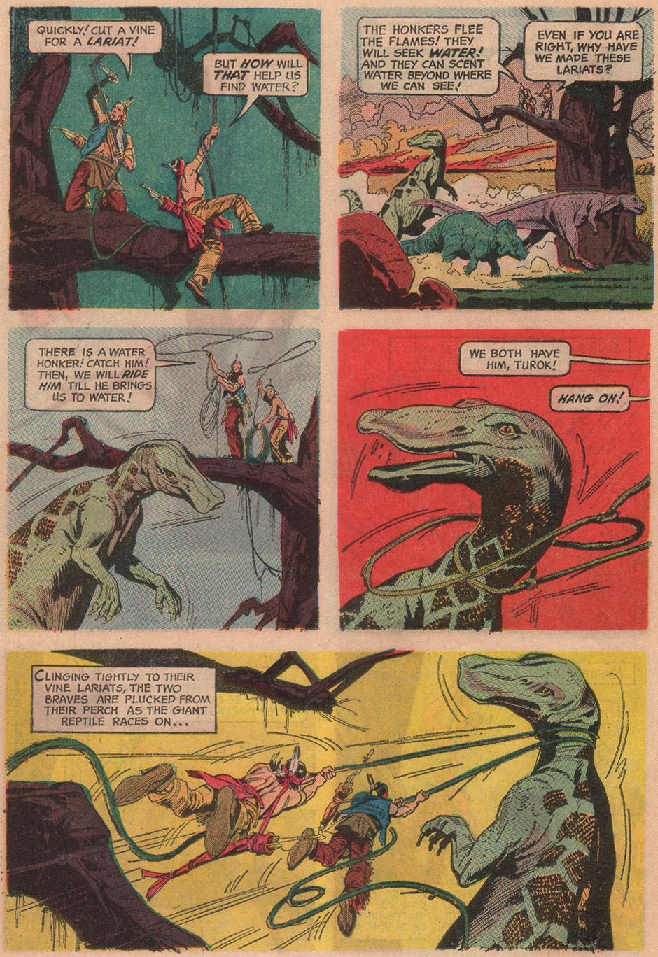 Read online Turok, Son of Stone comic -  Issue #53 - 14