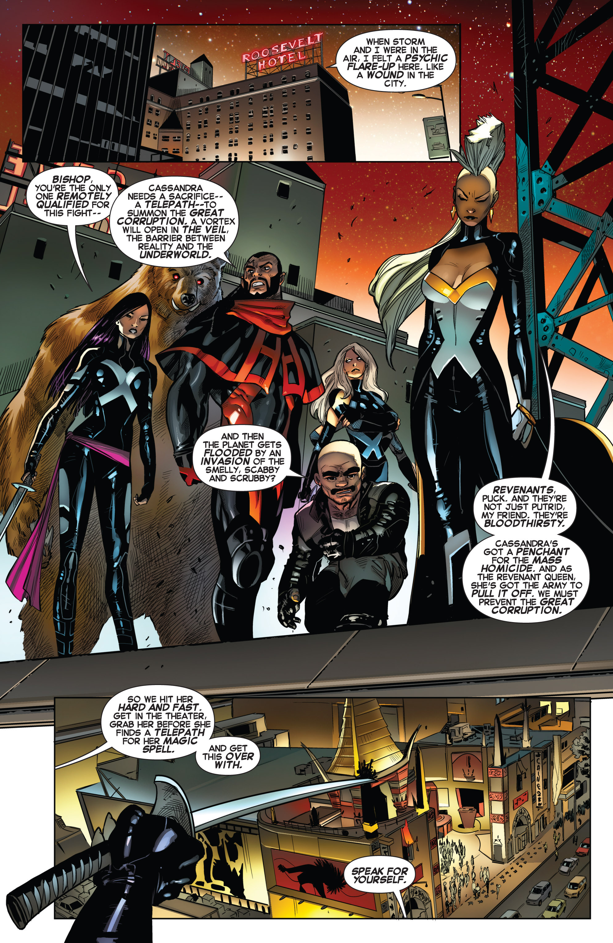 Read online Uncanny X-Force (2013) comic -  Issue #13 - 10